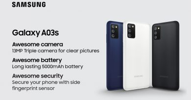 Samsung Galaxy A03s වෙළෙඳපොළට හඳුන්වා දෙයි